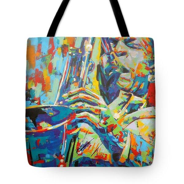 Coltrane Tote Bag
