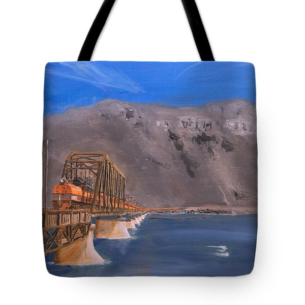Columbia Crossing Tote Bag by Christopher Jenkins