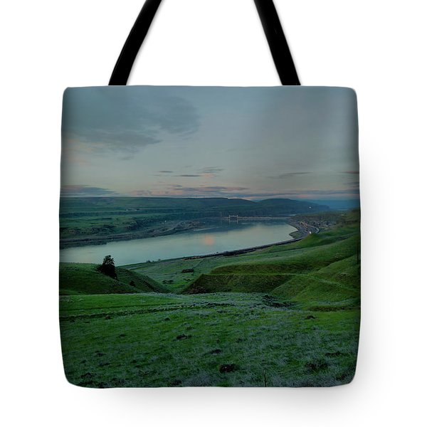 Tote Bag featuring the photograph Columbia Gorge In Early Spring by Jeff Swan