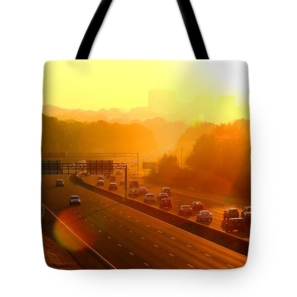 Tote Bag featuring the photograph Columbia Morning 1 by Joseph C Hinson Photography