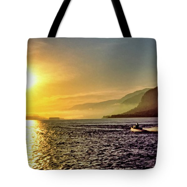 Columbia River 001 Tote Bag by Scott McAllister