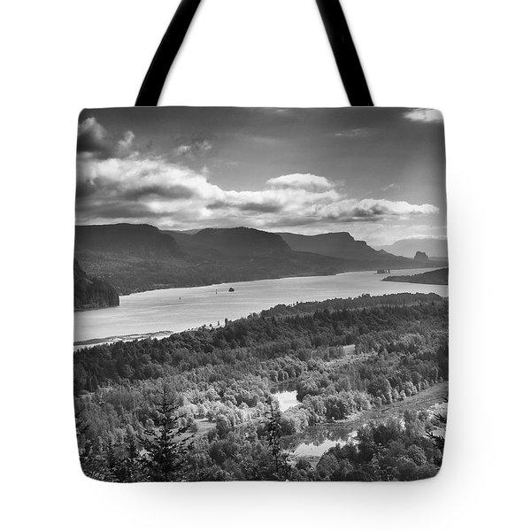 Columbia River Gourge Tote Bag