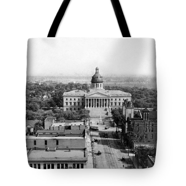 Columbia South Carolina - State Capitol Building - C 1905 Tote Bag by International  Images