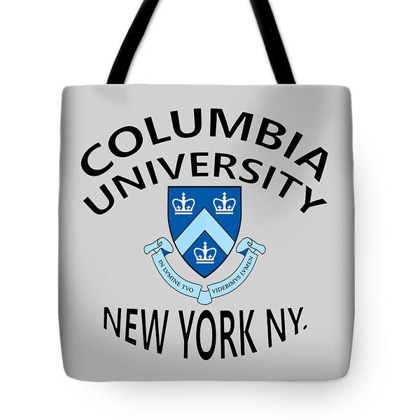 Columbia University New York Tote Bag