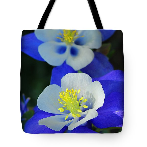 Columbine Day Tote Bag