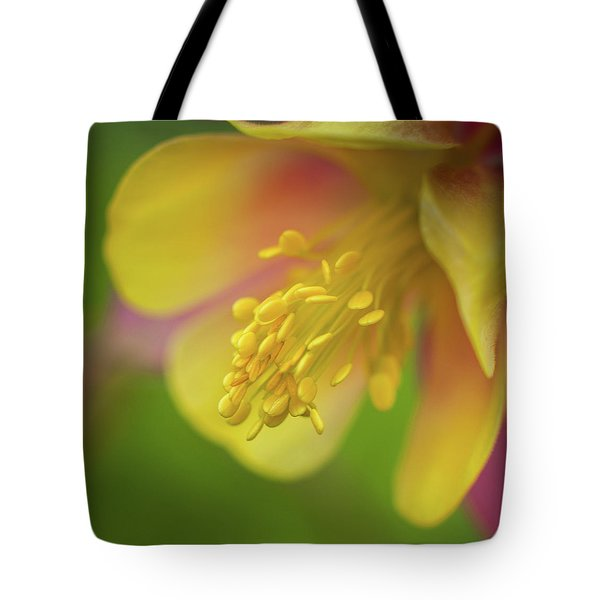 Tote Bag featuring the photograph Columbine by Greg Nyquist