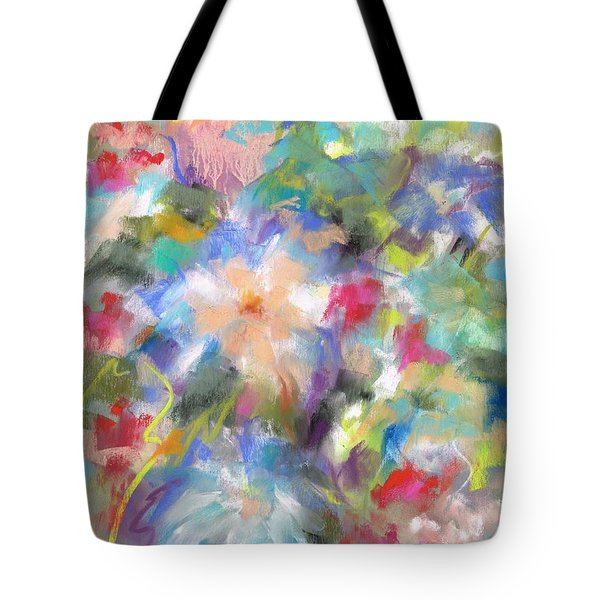 Columbine In The Wildflowers Tote Bag by Frances Marino