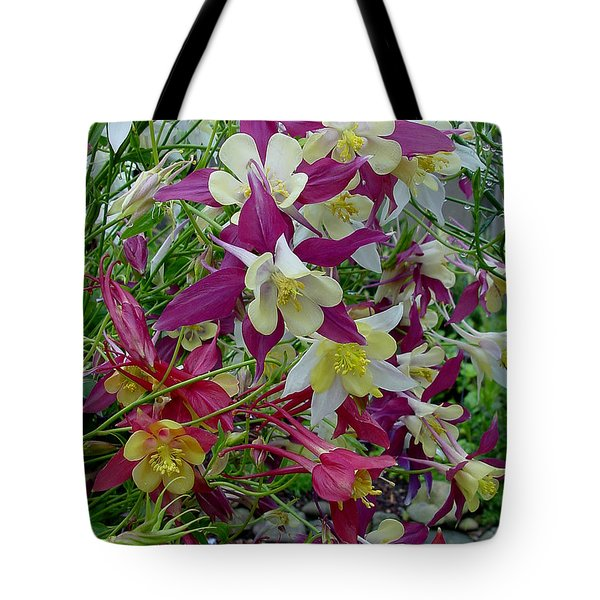 Columbine Tote Bag by Shirley Heyn