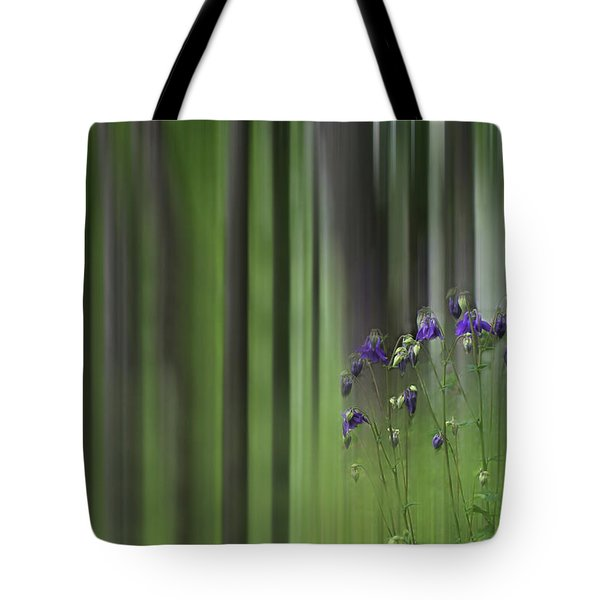 Columbine Spring Tote Bag