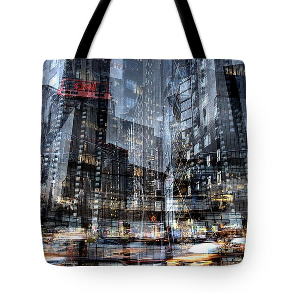 Columbus Circle Collage 1 Tote Bag