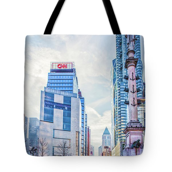 Columbus Circle Tote Bag