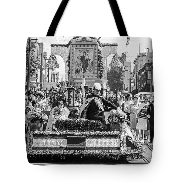 Columbus Day Parade San Francisco Tote Bag