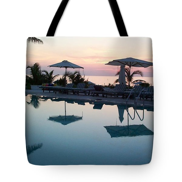 Tote Bag featuring the photograph Columbus Isle by Mary-Lee Sanders