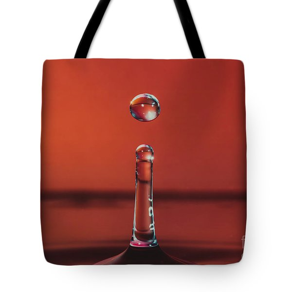 Column With Droplet Tote Bag