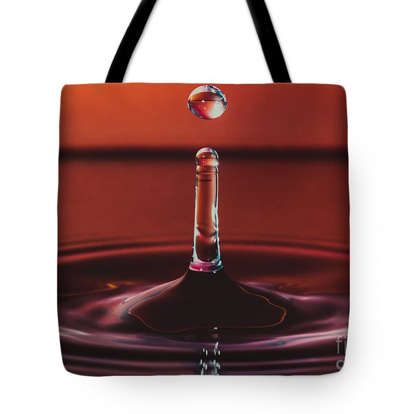 Column With Impending Droplet Tote Bag