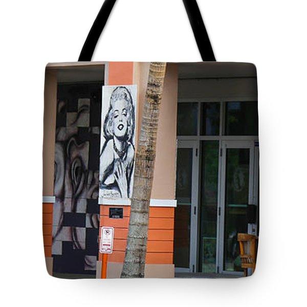 Columnart Tote Bag