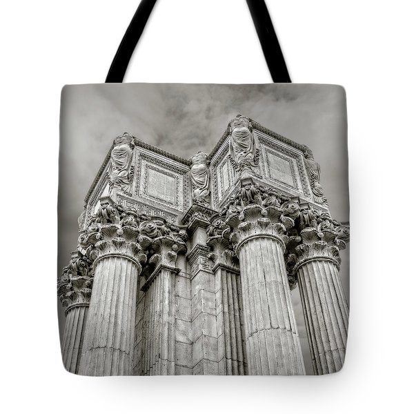 Columns #2 Tote Bag by Jerry Golab