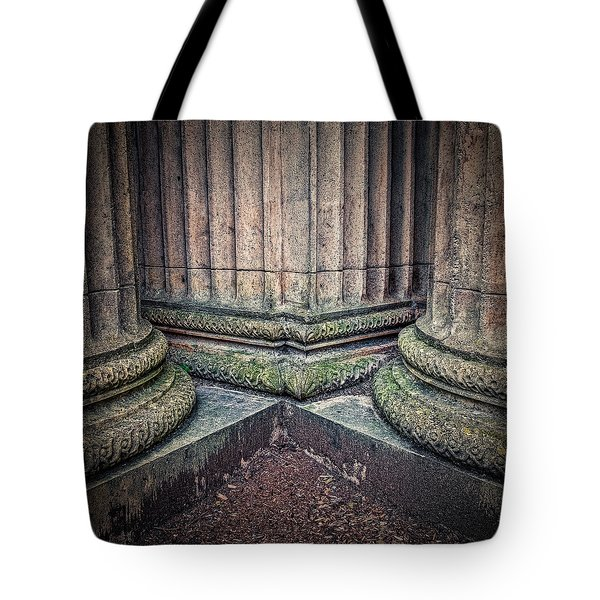 Columns #3 Tote Bag by Jerry Golab