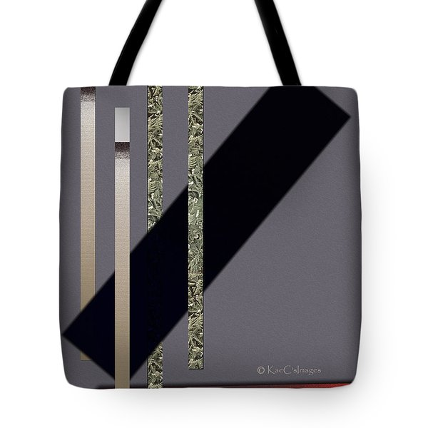 Columns And Spaces Tote Bag