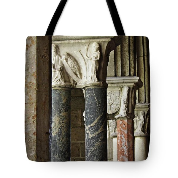 Columns At The Cloisters 1   Tote Bag