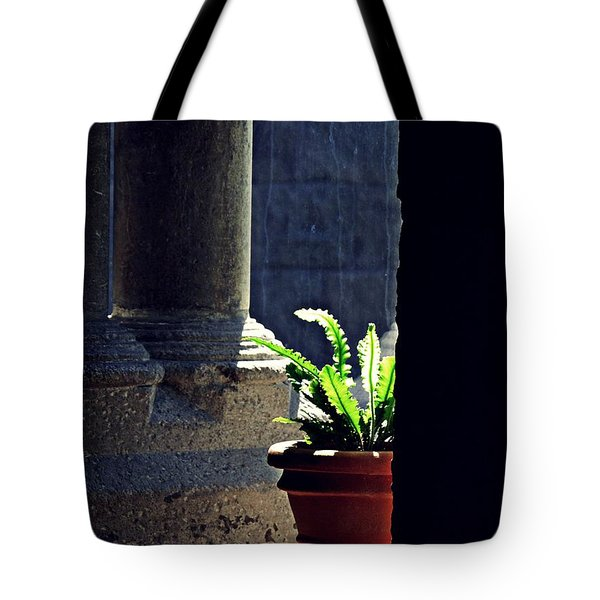 Columns At The Cloisters 4 Tote Bag