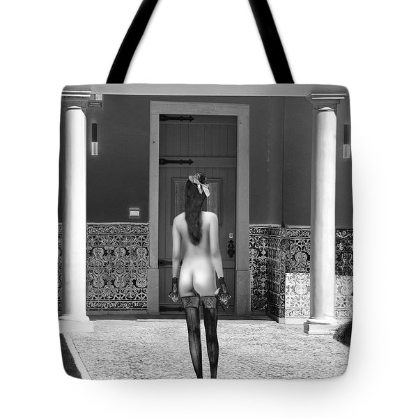 Columns Tote Bag by Emada Photos