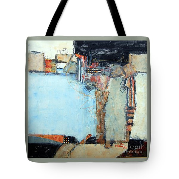 Columns Tote Bag by Ron Stephens