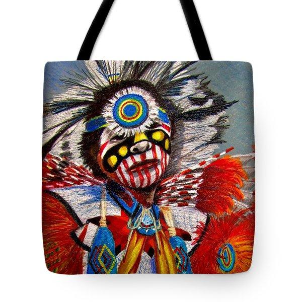 Comanche Dance Tote Bag
