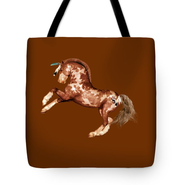 Comanche Tote Bag by Valerie Anne Kelly