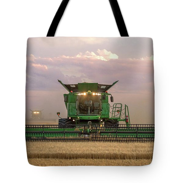 Combine Head On Tote Bag