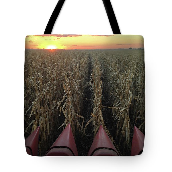 Combine Sunset V Tote Bag