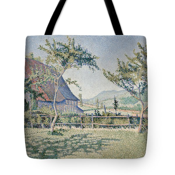 Comblat-le-chateau, The Meadow Tote Bag