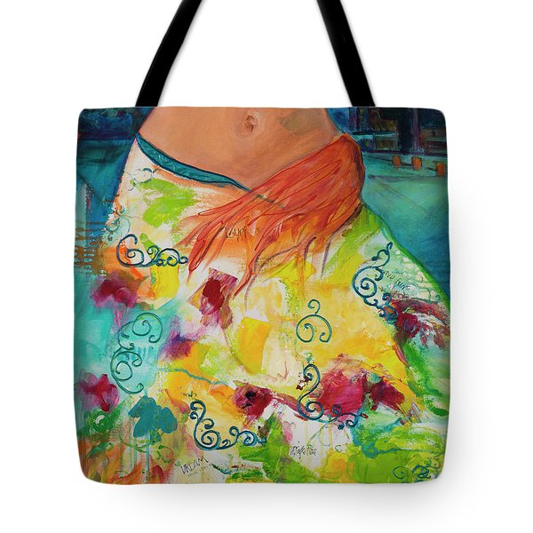 Combustible Tote Bag