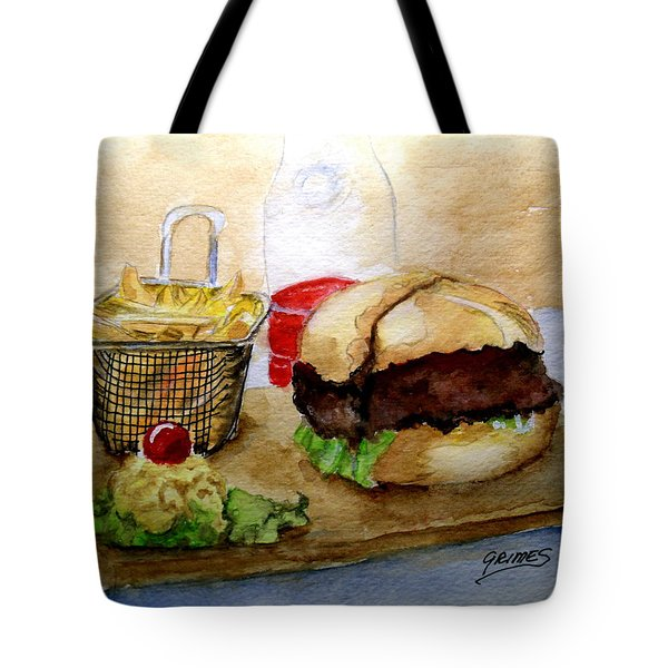 Come And Get It Dinner Is Ready Tote Bag