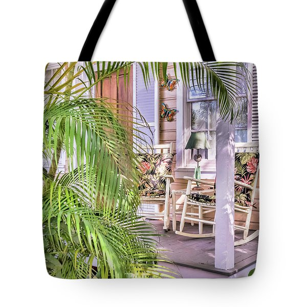 Come And Sit Awhile Tote Bag