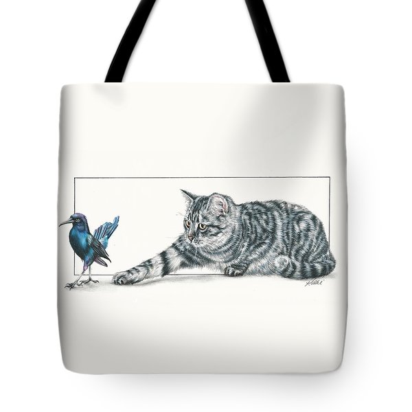 Come Back Here Tote Bag