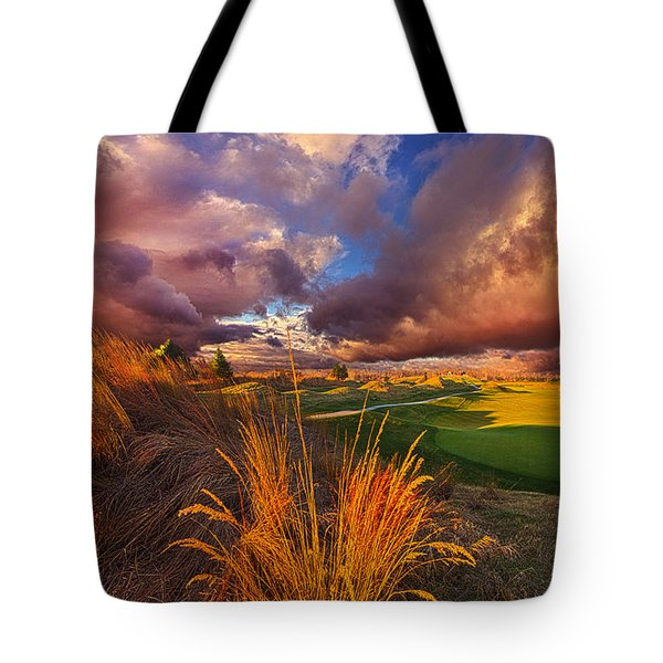 Come Dance With The West Wind Tote Bag by Phil Koch