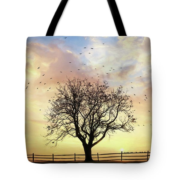 Tote Bag featuring the photograph Come Fly Away by Lori Deiter