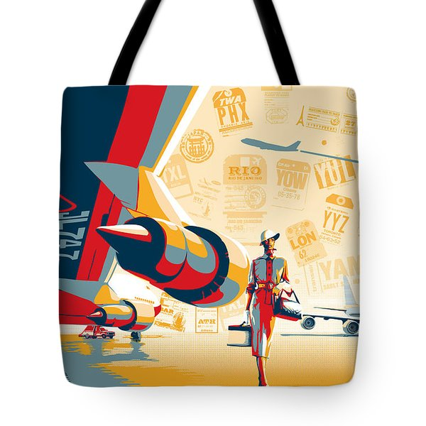 Come Fly With Me Tote Bag