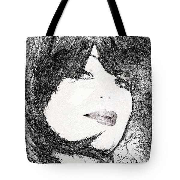 Tote Bag featuring the photograph Come Hither Look by Ellen Barron O'Reilly