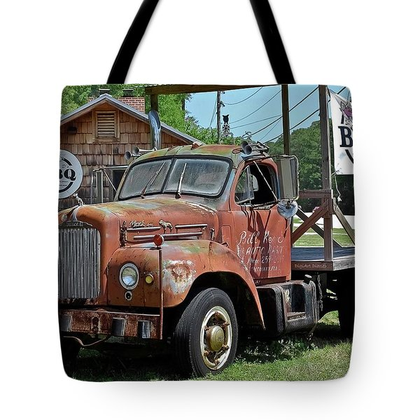 Come Hungry But Bring Your Own Chair Tote Bag by DigiArt Diaries by Vicky B Fuller