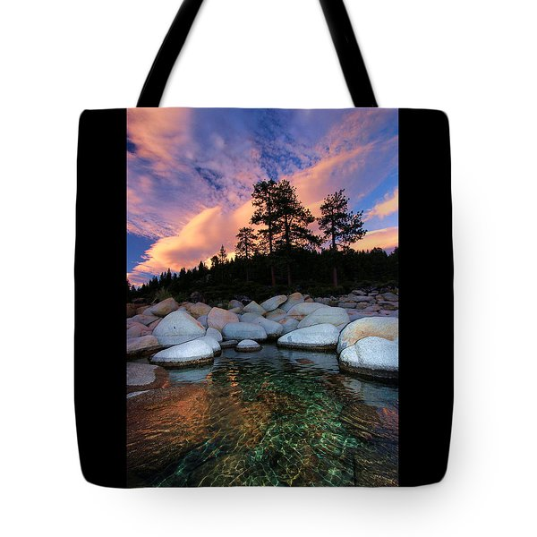 Come Into My World Tote Bag by Sean Sarsfield
