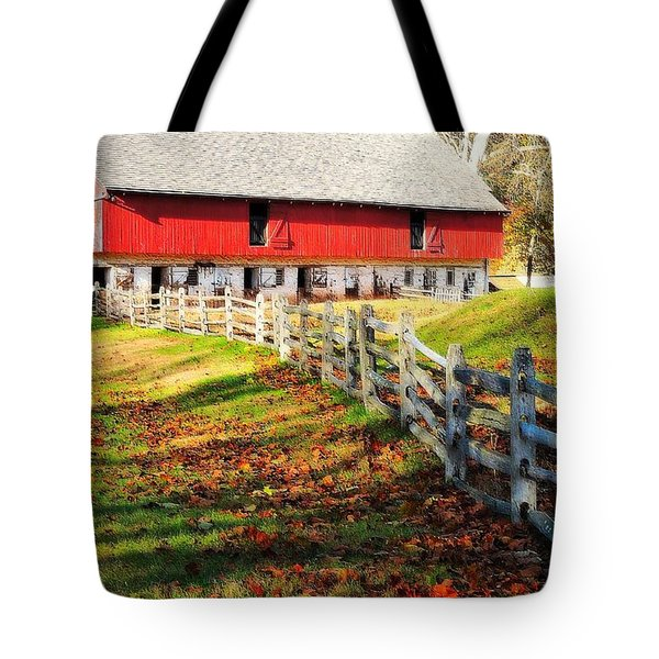 Come October Tote Bag