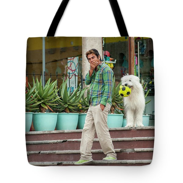 Come On And Play Tote Bag