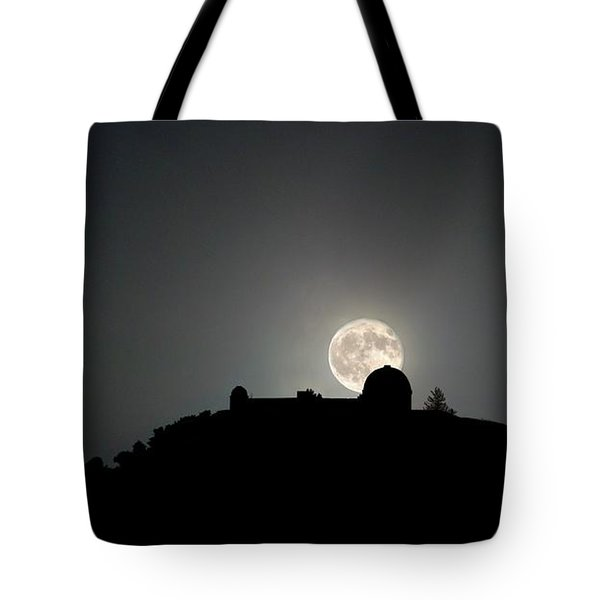 Come On You Stranger, And Shine In On Lick Observatory Tote Bag