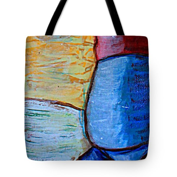 Come Outside, It's Only A Little Cold. Tote Bag