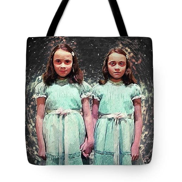 Come Play With Us - The Shining Twins Tote Bag