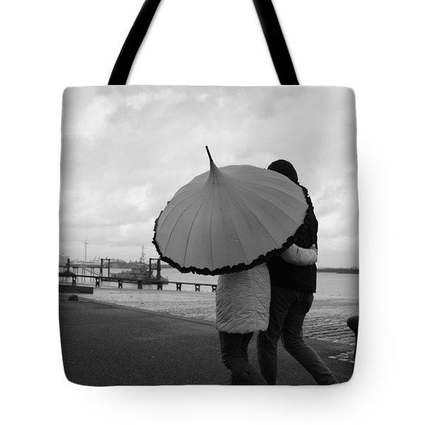 Come Rain Or Shine Tote Bag