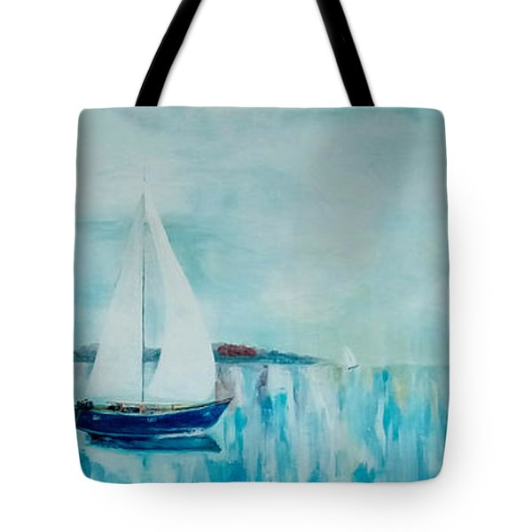 Come Sail Away Tote Bag by Gary Smith