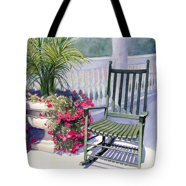 Come Sit A Spell Tote Bag by Janet King